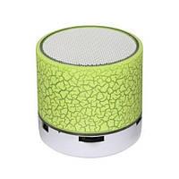 Портативная Bluetooth колонка с подсветкой SPS B1 BT Green, фото 1