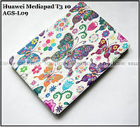TFC чехол книжка Huawei Mediapad T3 10 (9.6) AGS-L09 цвет Butterfly / Бабочка