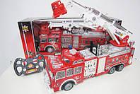 Радио управляемый Пожарная машина светится звук в коробке 50*14,3*21см
