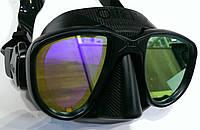 Маска для фридайвинга Omer Alien Exclusive; зеркальные стекла