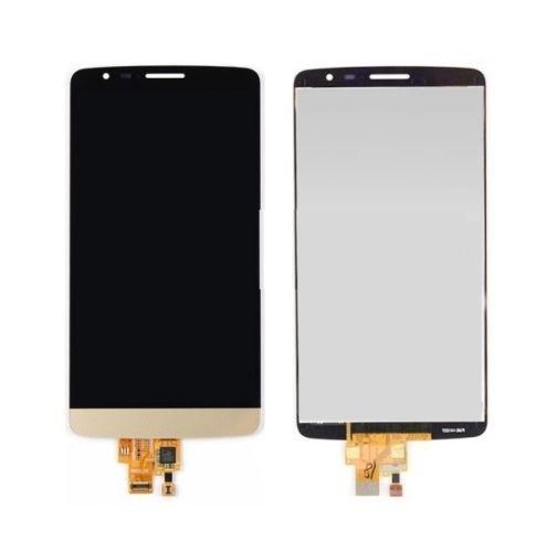 Дисплей (LCD) LG D690 G3 Stylus с сенсором золотой оригинал