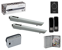 Автоматика для розпашних воріт Faac S418 (24В) KIT (комплект), фото 1