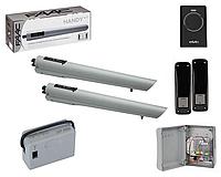Автоматика для распашных ворот Faac S418 (24В) KIT (комплект), фото 1