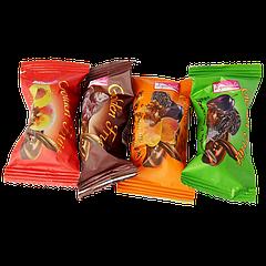 Конфеты Асорти (чернослив, курага, финик,персик) 1шт поштучно