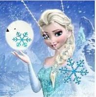 Кулон Снежинка Холодное сердце