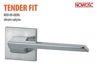 Дверная ручка VDS Tender Fit  хром-сатин
