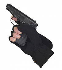 M-Tac перчатки беспалые с клапаном Windblock 295 Black, фото 3