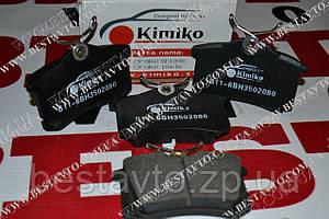Колодки тормозные задние  в11-6bh3502080 eastar