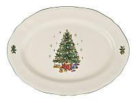Блюдо Lefard Рождественская елка 36 см, 910-135