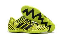 Футзалки adidas Nemeziz Tango 17.3 TF Yellow Black, фото 1