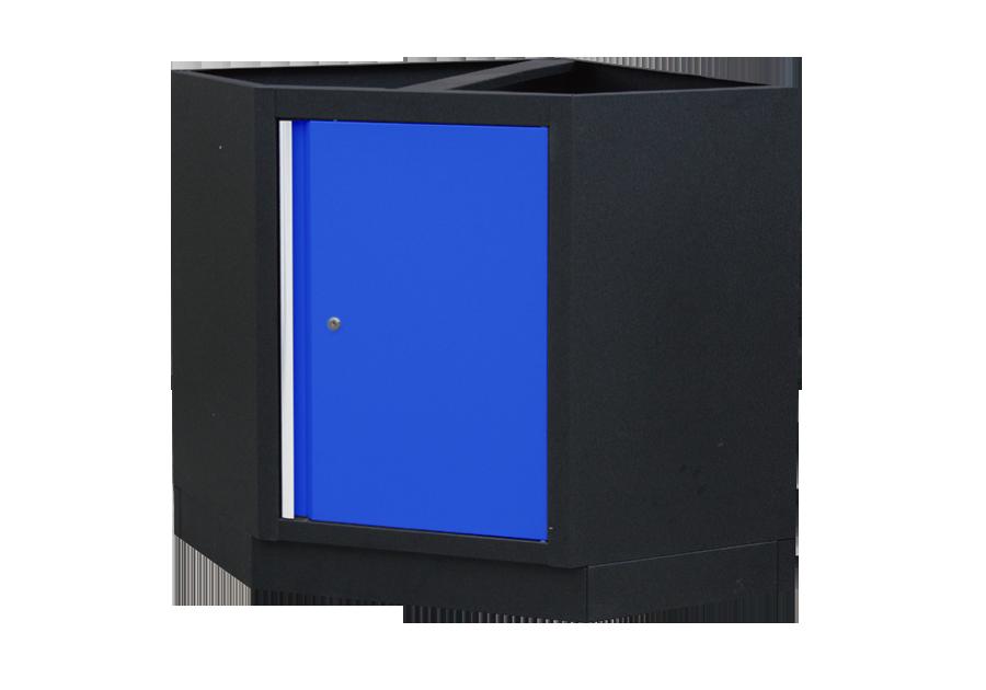 Шкаф инструментальный угловой Габариты: 865 x 865 x 910мм KINGTONY