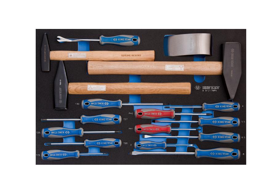 Набор инструментов в ложементе EVO 17 предмета