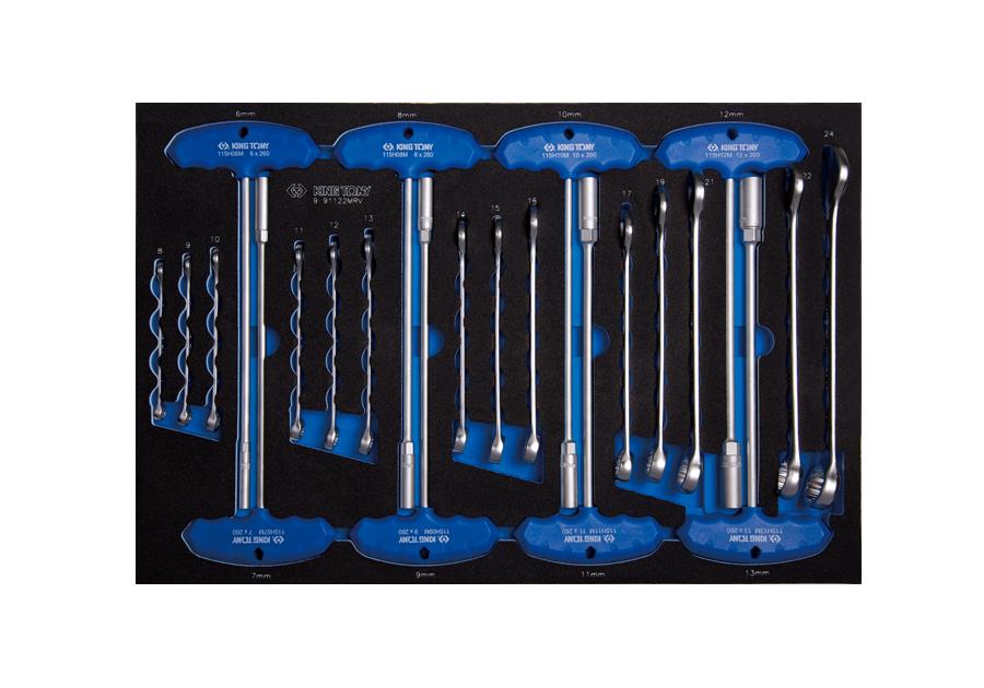 Набор инструментов в ложементе EVO 26 предметов