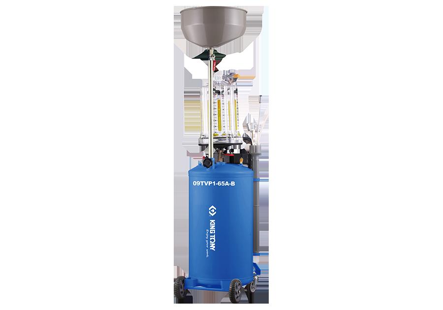 Установка для вакуумного отбора масла 65 литров бак с предкамерой KINGTONY
