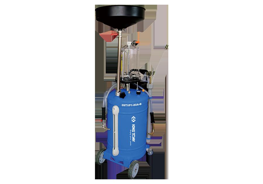 Установка для вакуумного отбора масла 80 литров бак с предкамерой KINGTONY