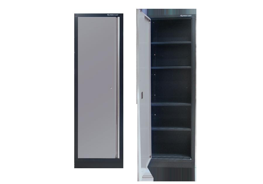 Шкаф инструментальный  серый 600 x 460 x 2000 KINGTONY