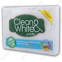 Хозяйственное мыло Duru Clean&White Универсальное, 2х125гр