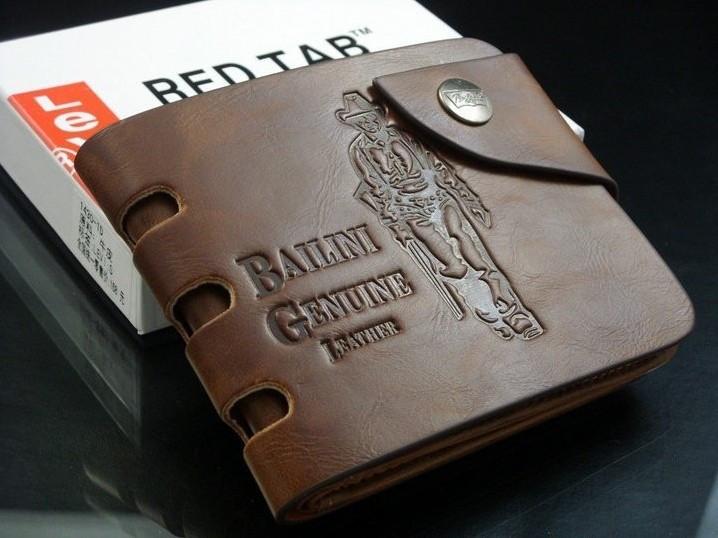 Кошелек Bailini Genuine Leather Brown С