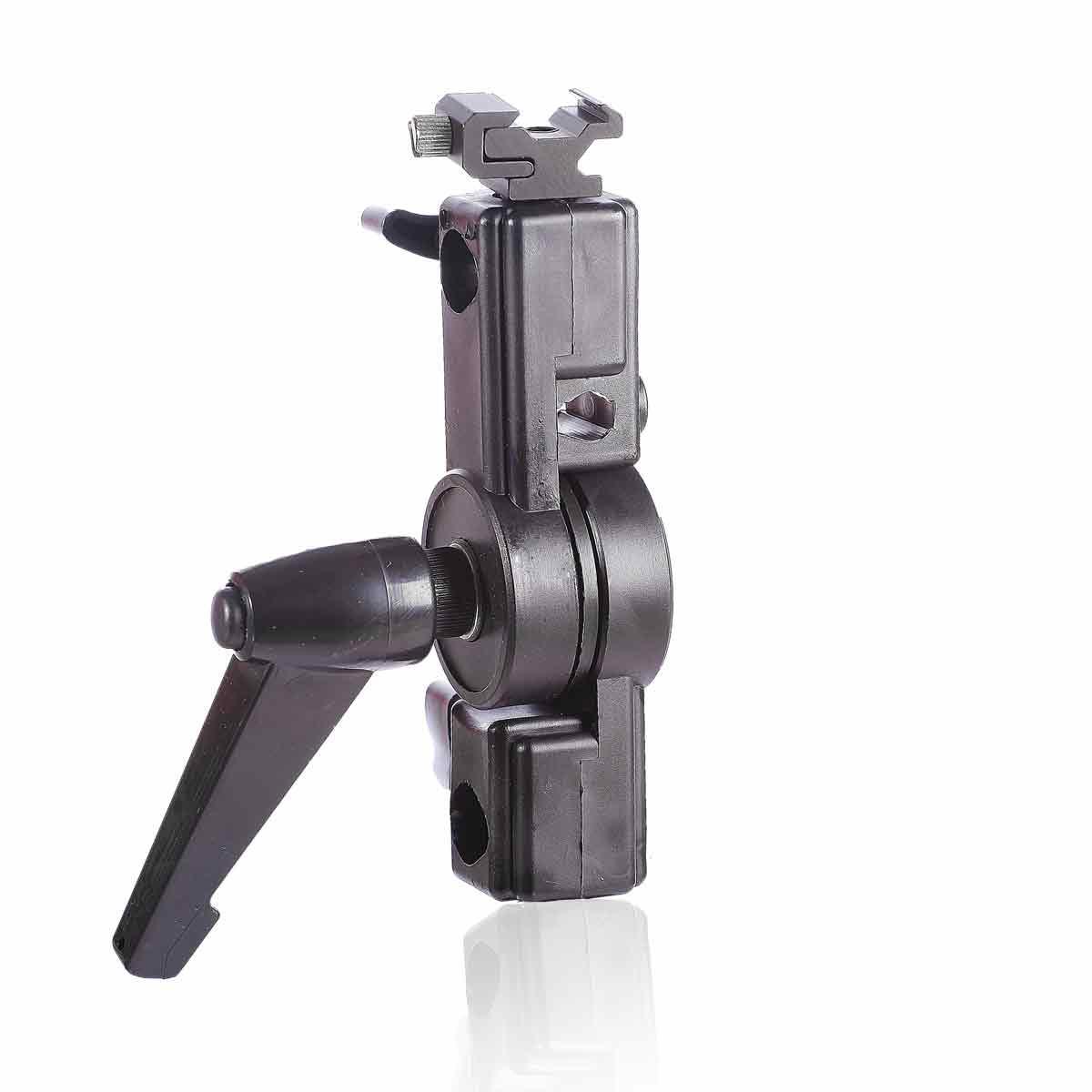 Шарнирный держатель для вспышки и зонта type М (PLA5007)