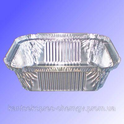 Контейнер прямоугол с алюм.фольги 430мл 144 * 119 * 40, R24L (SP 24L)