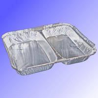 Контейнер 2-секц. с алюм.фольгы 960мл. 227 * 177 * 30 M2L (SPM 2L)