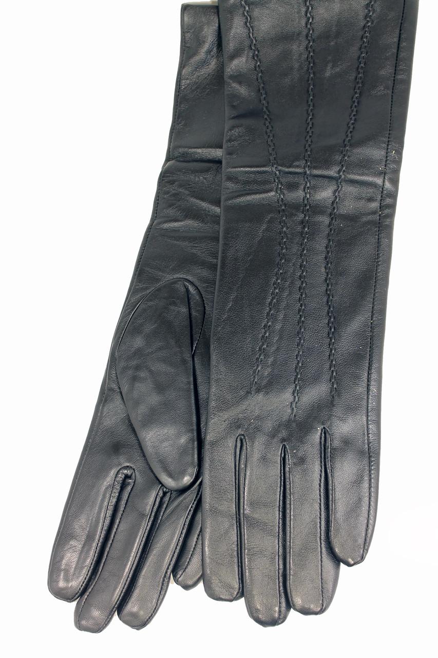 Женские кожаные сенсорные перчатки