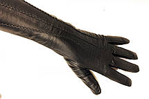 Женские кожаные сенсорные перчатки, фото 3