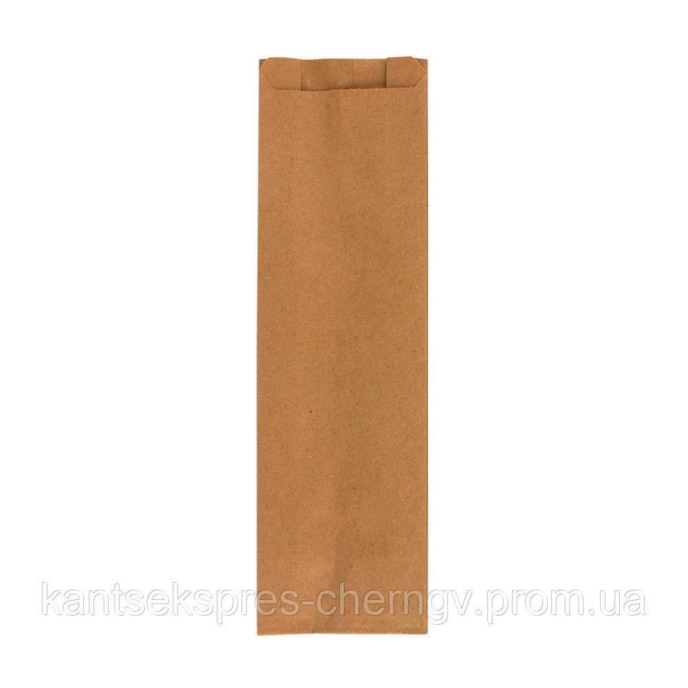 Пакет бумажный коричневый 310*90*50, 40 г/м2