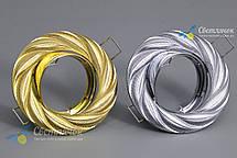 Встраиваемый светильник Feron DL6027 золото, фото 3