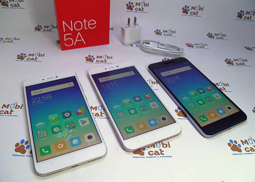 Бюджетный фаблет-смартфон Xiaomi RedMi Note 5A
