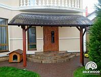 Деревянные козырьки и навесы к дому DAXWOOD, фото 1