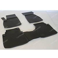 Полиуретановый автомобильный 3D коврик для Hyundai Santa Fe class ТАГАЗ 2006-