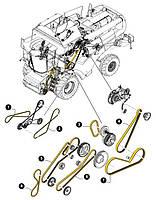 Ремень привода вариатора барабана CNH