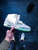 Кросовки Nike Air Yeezy 2 NRG Wolf Grey Pure Platinum