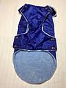 Жилет-попона мех 67 см разм №6 синий для собак, фото 9