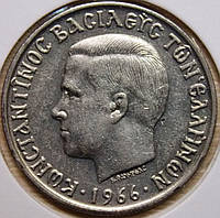 Монета Греции 5 драхм 1966 г