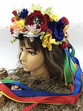 Веночек дизайнерский Украинские цветы