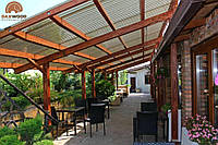 Деревянные летние террасы для кафе и ресторана DAXWOOD, фото 1