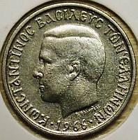 Монета Греции 1 драхма 1966 г