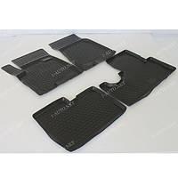 Полиуретановый автомобильный 3D коврик для Hyundai Tucson (JM) 2004-2010