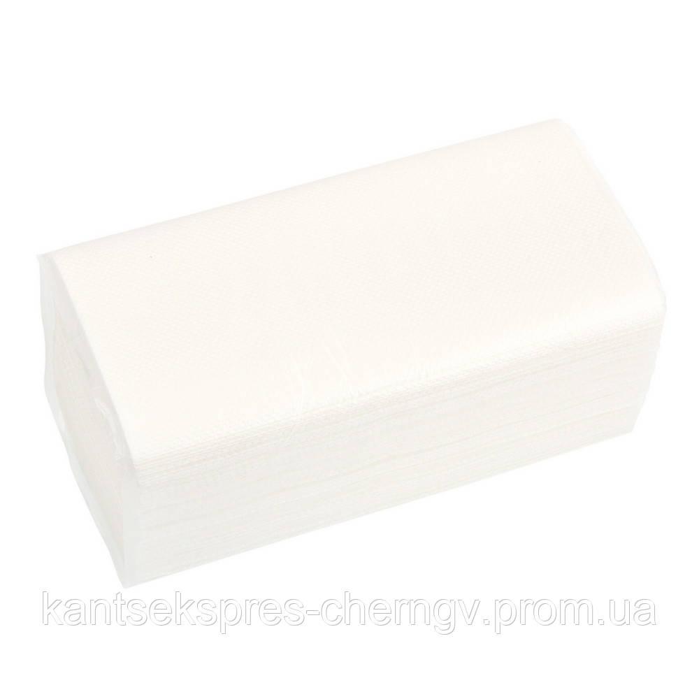 Полотенце  V-V скл. 23*25 150 шт 2шар. белое