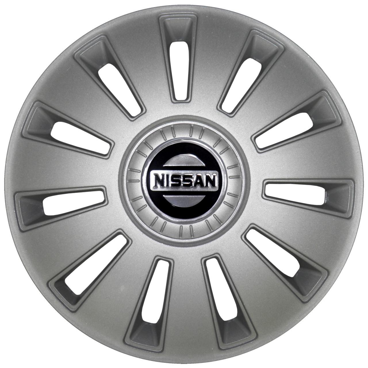 Колпак Колесный Nissan (серый) R15