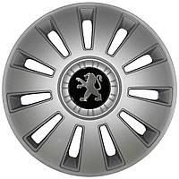 Колпак Колесный Peugeot (серый) R16