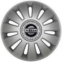 Колпак Колесный Nissan (серый) R16