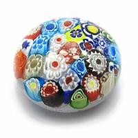 Сфера хрустальная с узором (6х6х3,5 см) Код:28124