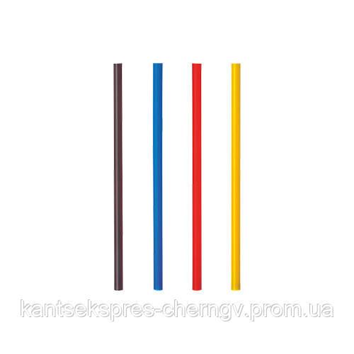 Трубочки 12,5 см 400 шт ф 4.8 для мартини цветная Pap Star