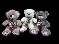 Мягкая игрушка Мишка 28 см плюшевый Медведь в шарфе детские игрушки на подарок