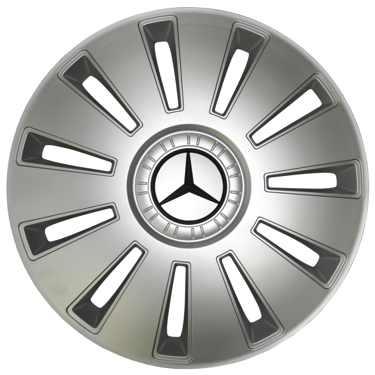 Колпак Колесный Mercedes (серый) R15