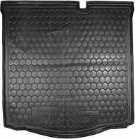 Пластиковый коврик в багажник Citroen C-Elysee II 2013- (AVTO-GUMM)