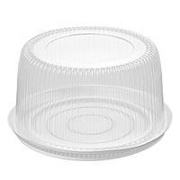 Крышка для торта круглая 210 Т (3500 мл) 255*95мм  до 210B W